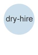 dry-hire für Weitervermieter